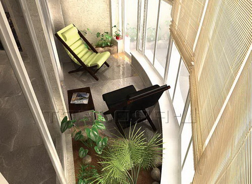 Дизайн балкона в современном мире высотных домов. как интерь.