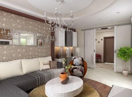 Дизайн и интерьер гостиной комнаты - гармоничное сочетание красоты, стиля и комфорта.