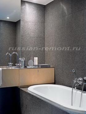Фото Дизайн ванной комнаты простой фото
