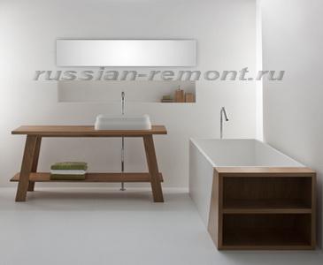 дизайн ванной комнаты минимализм