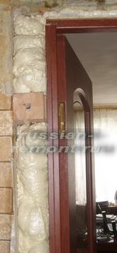 межкомнатная дверь установка