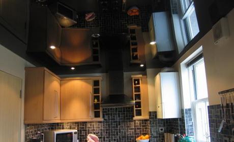 дизайн натяжных потолков