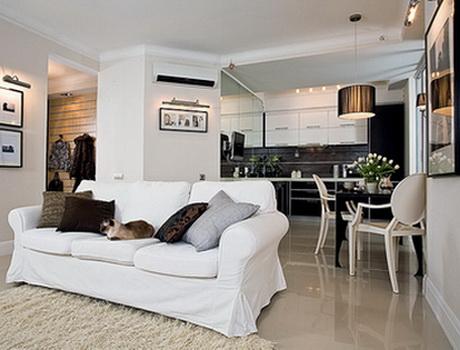 Дизайн однокомнатной квартиры. Фото интерьера квартиры Хрущевки.