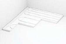 Полистирольная система водяного теплого пола