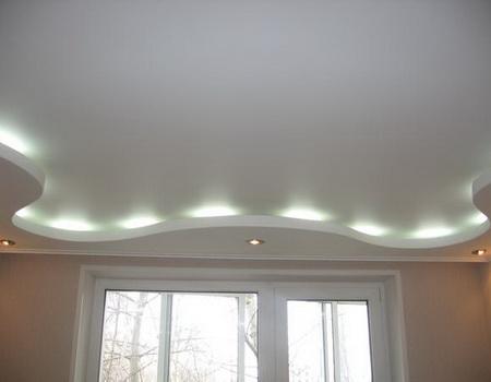 Дизайн потолка из гипсокартона видео