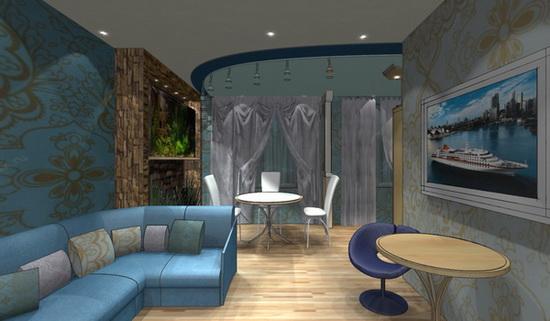 Квартиры-студии дизайн видео