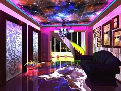 дизайн освещения потолков
