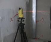стяжка пола лазерный уровень