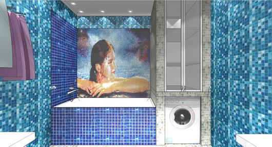 Ремонт стен в ванне своими руками