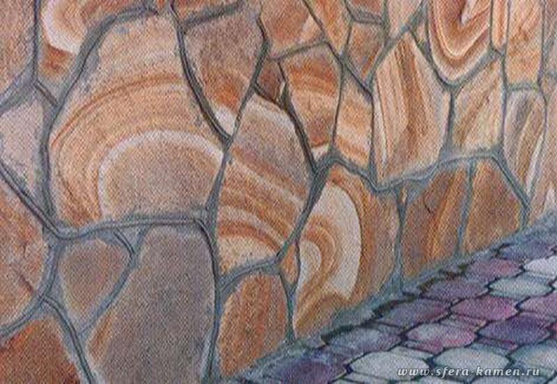 природный камень цементный раствор