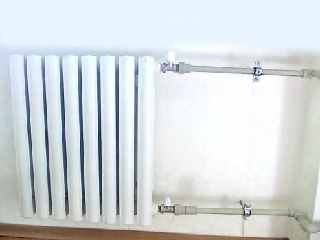 Установка и подключение батарей отопления
