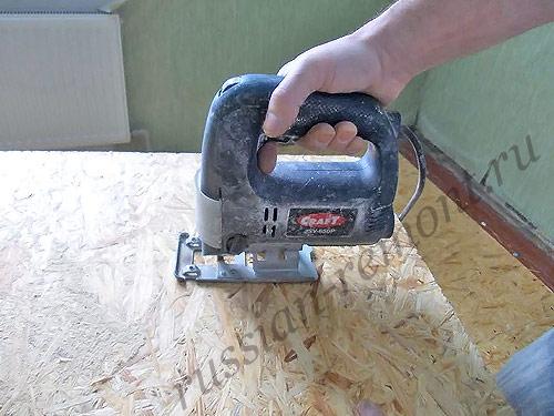 Как выровнять старое деревянное основание под ламинат