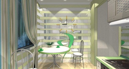 Дизайн кухни в 8 кв. м.