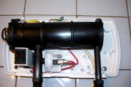 подключение электрического проточного водонагревателя