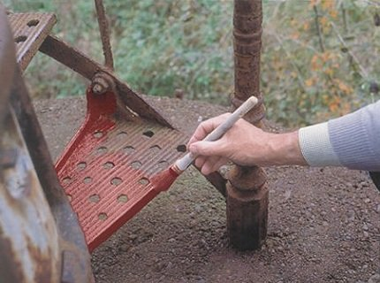 Грунтовка стали