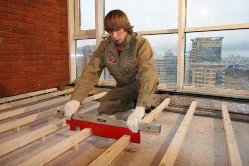 Как сделать деревянный пол своими руками: особенности монтажа