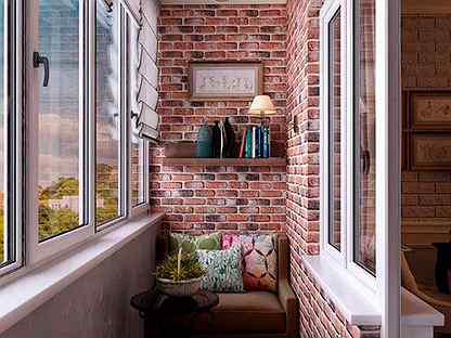 Что означает ремонт балкона под ключ