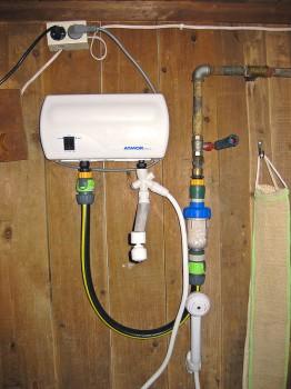 подключение проточного водонагревателя к водопроводу