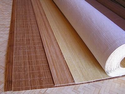 Разновидности отделочных материалов из бамбука – применение и работа с ними
