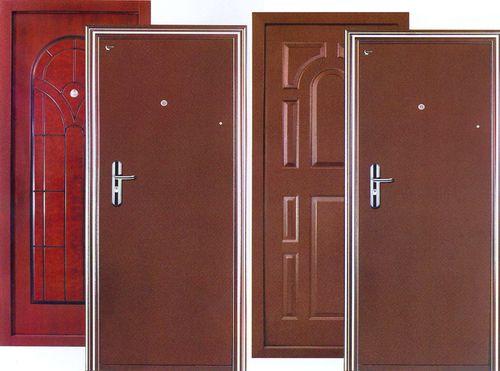 Отделка, покрытие и утепление металлических дверей — обоснованность выбора