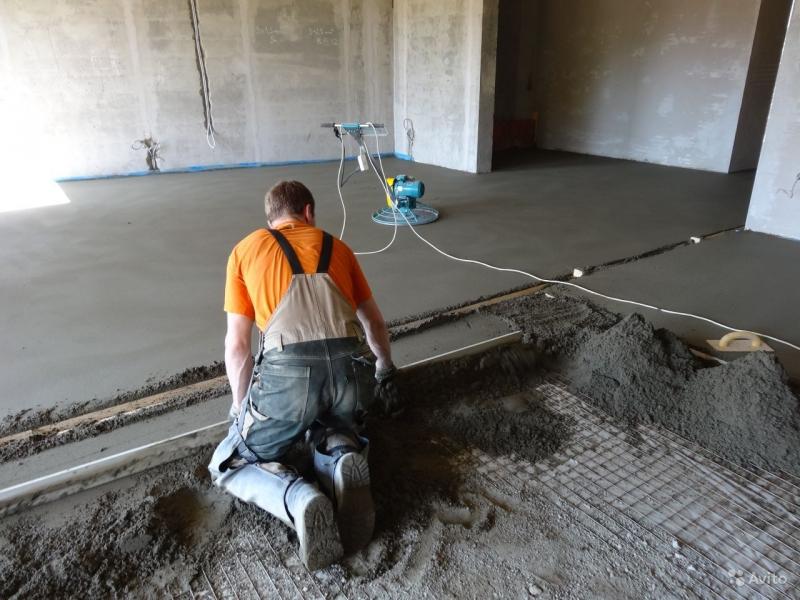 Пошаговая инструкция по укладке бетонной стяжки