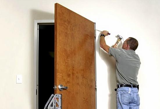 Как установить дверь. Межкомнатная дверь — правильная установка своими руками.